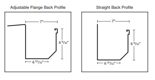 7 inch Box Gutter Diagram