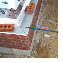 Masonry-wall-Flashing